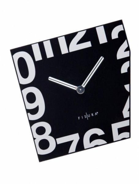 Nástěnné Esquina Black 21 x 21 cm černé - Fisura