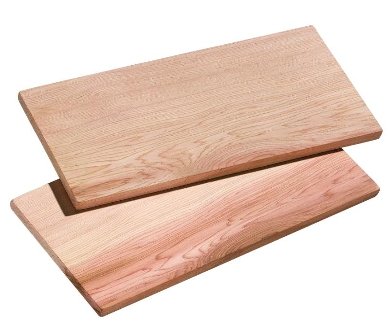 Fotografie Set 2 prkénka z cedrového dřeva Smokey 40 x 15 - Küchenprofi