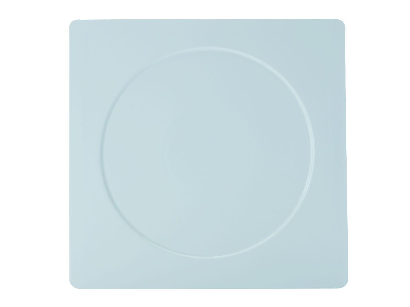 Porcelánový Čtvercový talíř motiv kruh Metrix 30,5 cm - Maxwell&Williams