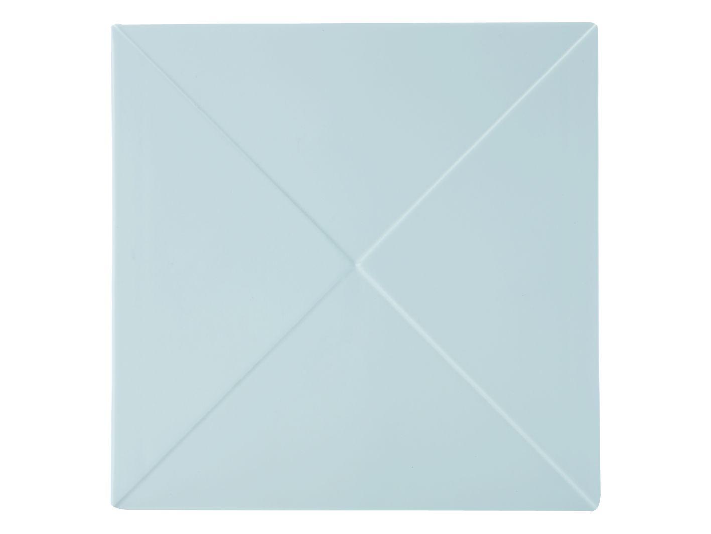 Porcelánový Čtvercový talíř motiv trojúhelník Metrix 30,5 cm - Maxwell&Williams