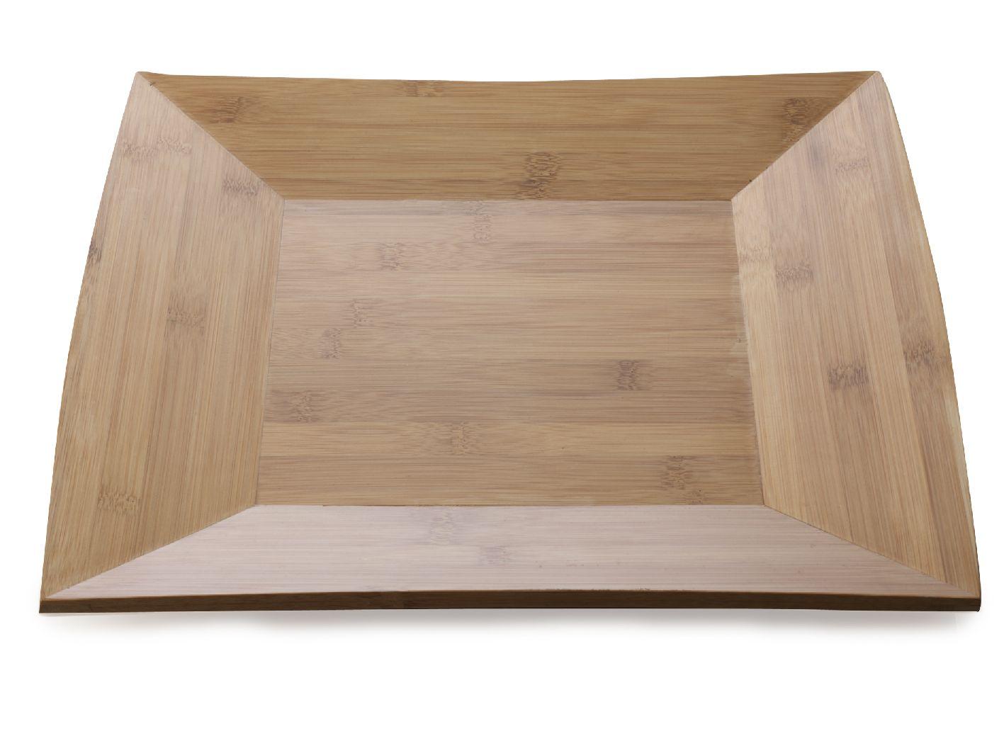 Čtvercový dřevěný talíř Bamboozled 30 cm Bambus - Maxwell&Williams