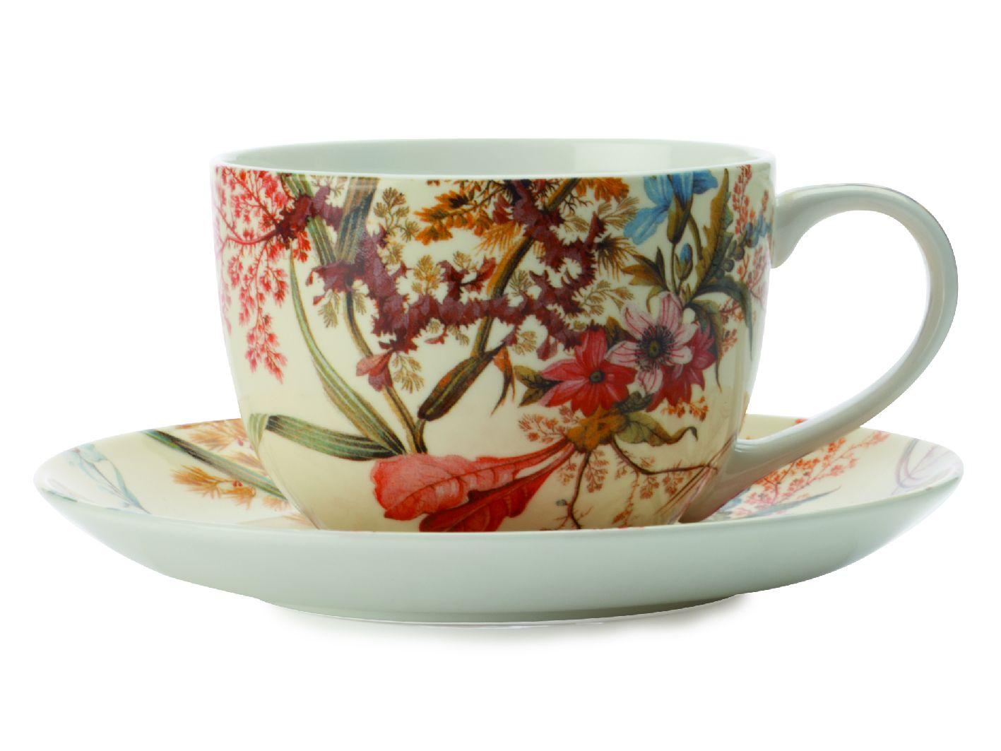 Šálek s podšálkem Cottage Blossom 250 ml William Kilburn - Maxwell&Williams