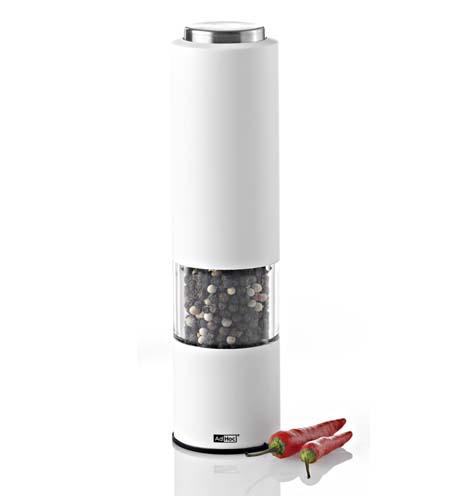 Elektrický mlýnek na pepř či sůl TROPICA Bílý - AdHoc