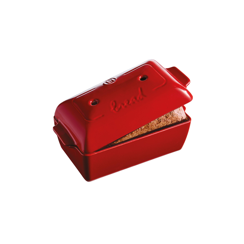 Forma na pečení chleba Burgundy granátová červená 28 x 15 cm - Emile Henry