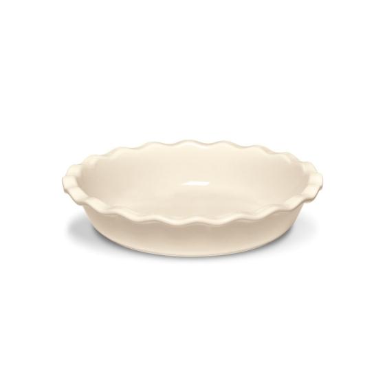 Koláčová forma Clay krémová 26 cm - Emile Henry