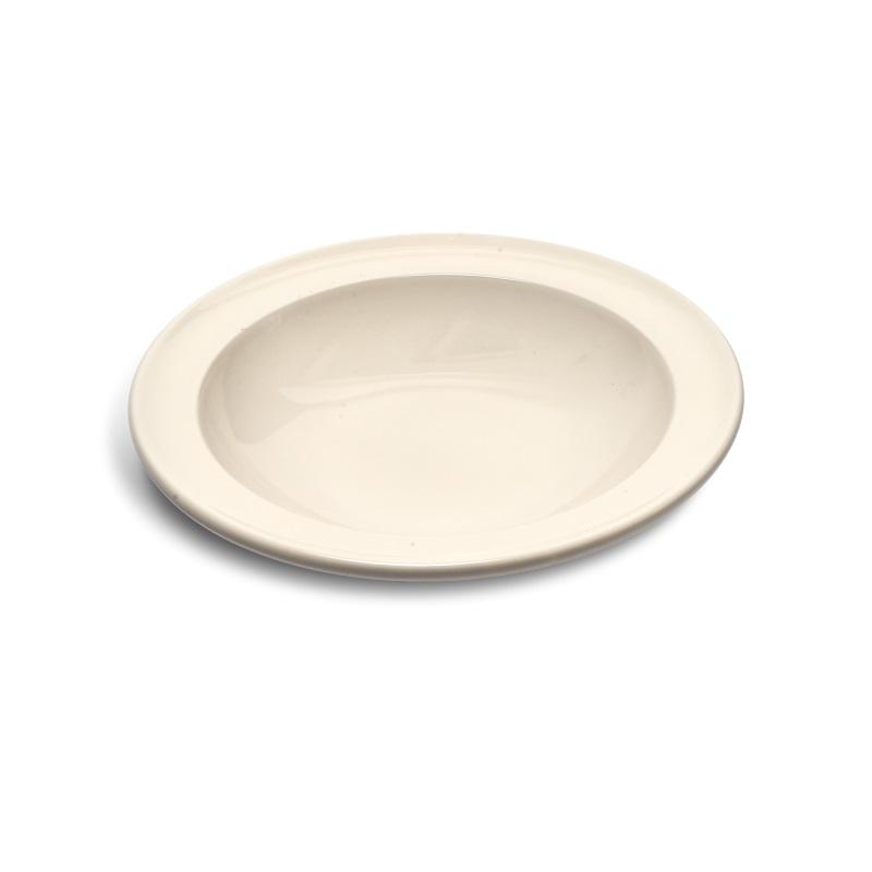 Talíř polévkový 22 cm Clay krémový - Emile Henry