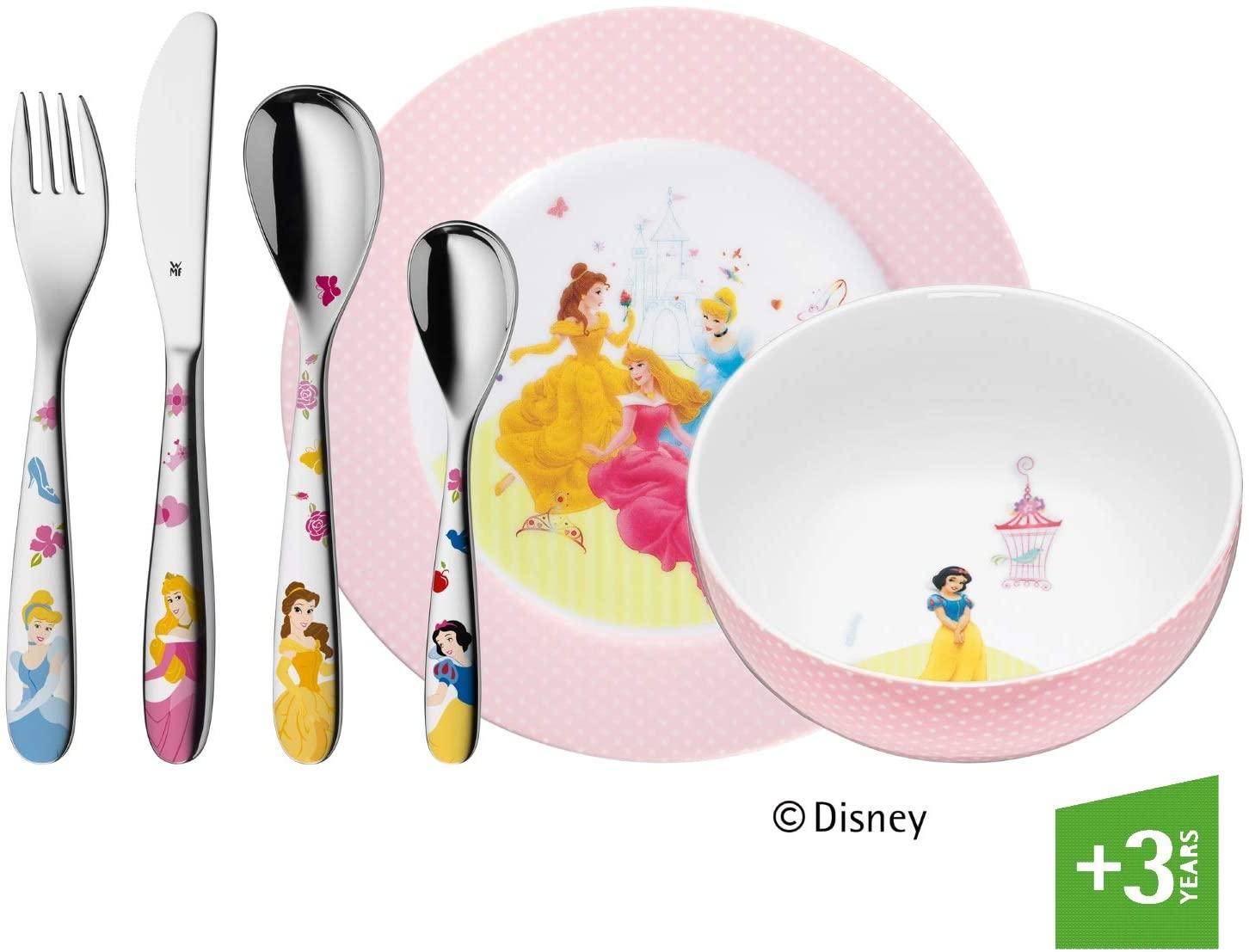 Dětský příbor 6-dílný set Disney Princess - WMF