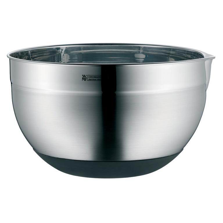Kuchyňská nerezová miska 22 cm se silikonovým dnem - WMF