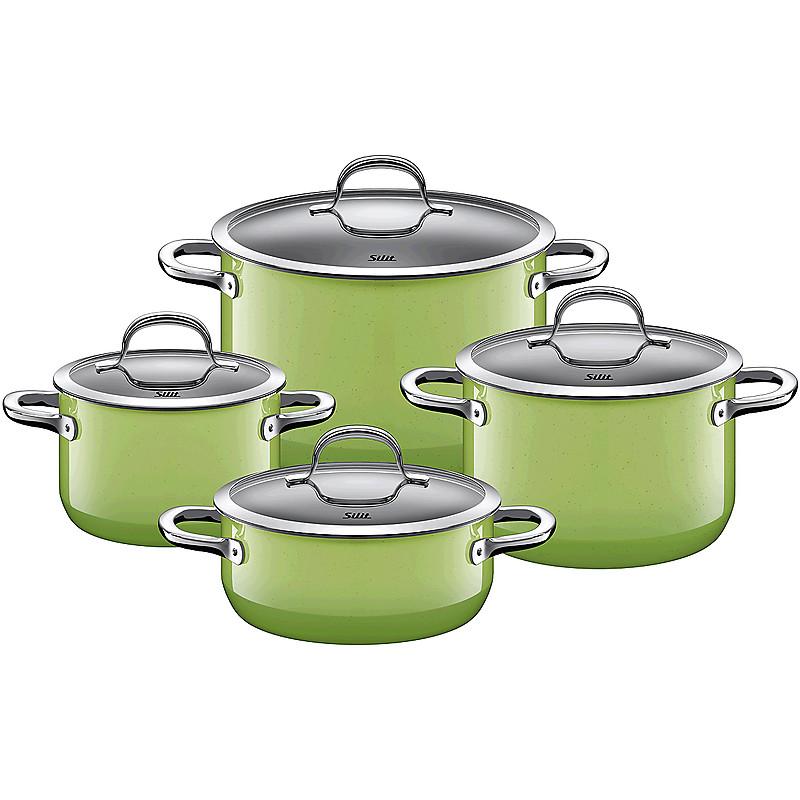 Sada nádobí Passion Colours Green 4-díly - Silit