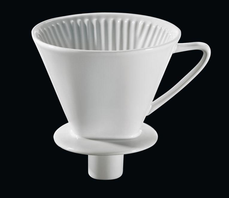 Filtr na kávu velikost 4, bílý - Cilio