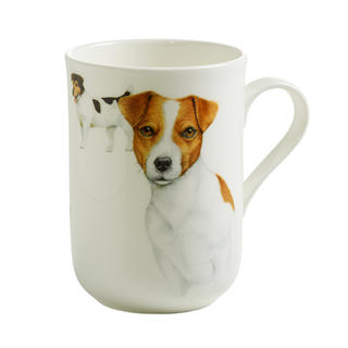 Porcelánový Hrnek Cashmere PETS pes Jack Russell 300 ml - Maxwell&Williams
