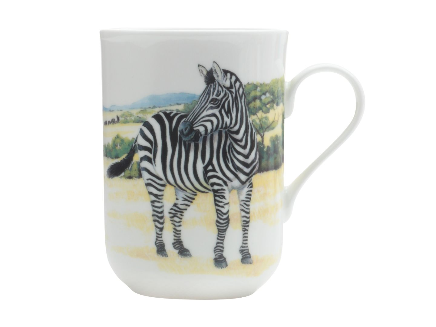 Porcelánový Hrnek Cashmere Animals Zebra 300 ml - Maxwell&Williams