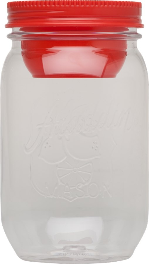 Dóza na potraviny Mason 1000 ml červená - Aladdin