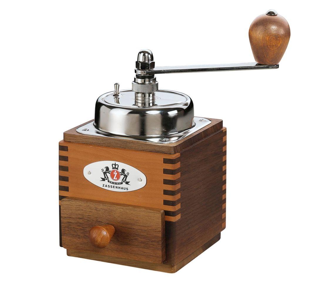 Mlýnek na kávu MONTEVIDEO,ořech/hruška - Zassenhaus