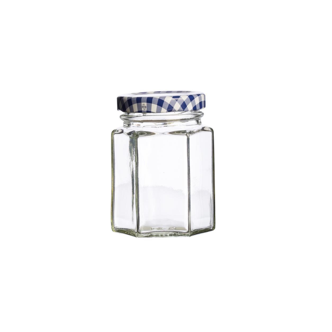 KILNER hranatá sklenice 110 ml, šroubovací - Kilner