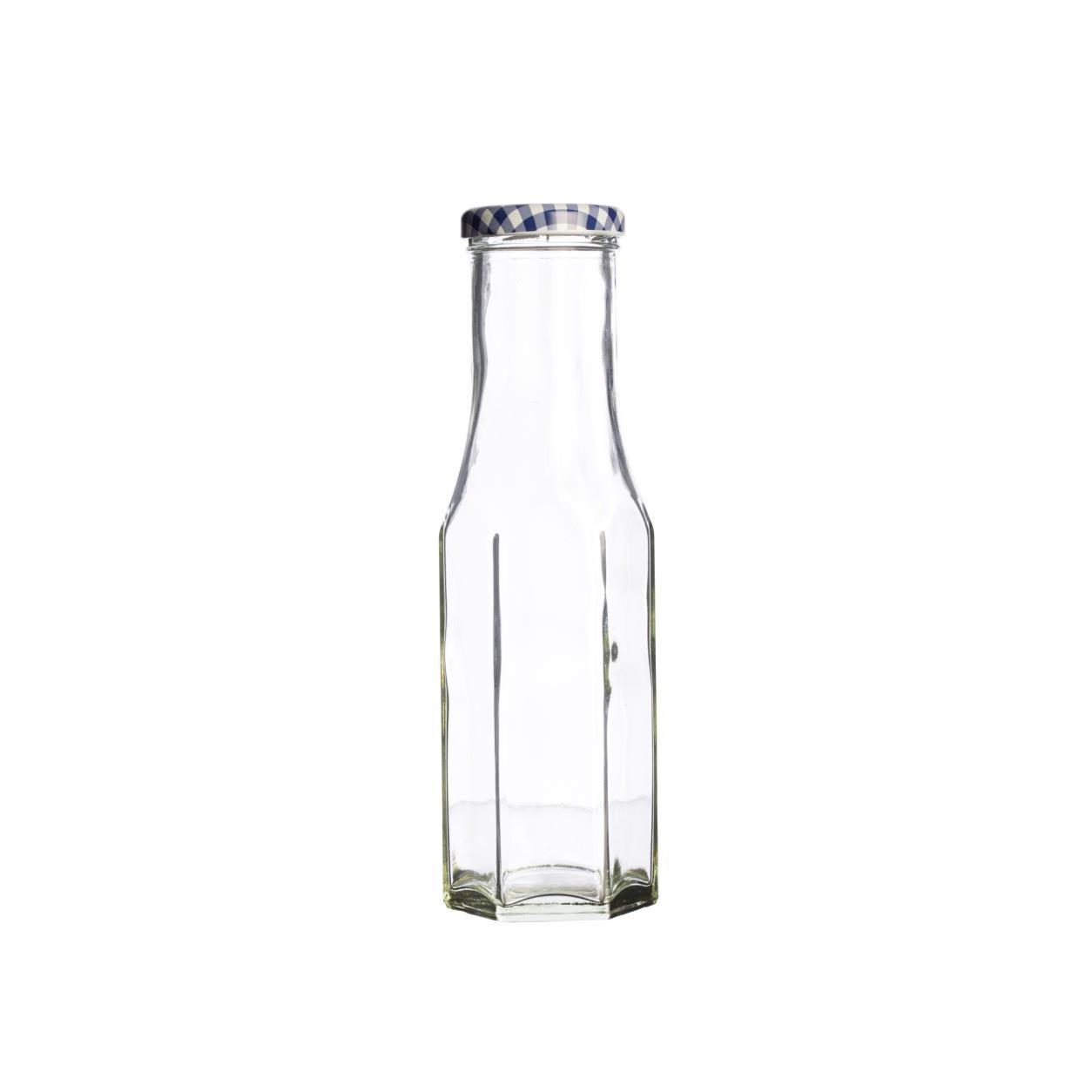 KILNER hranatá láhev na dressing 250 ml, šroubovací - Kilner