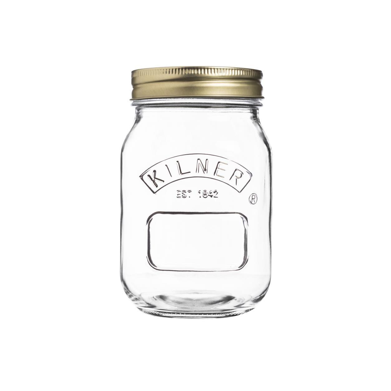 Zavařovací sklenice 0,5l šroubovací - Kilner