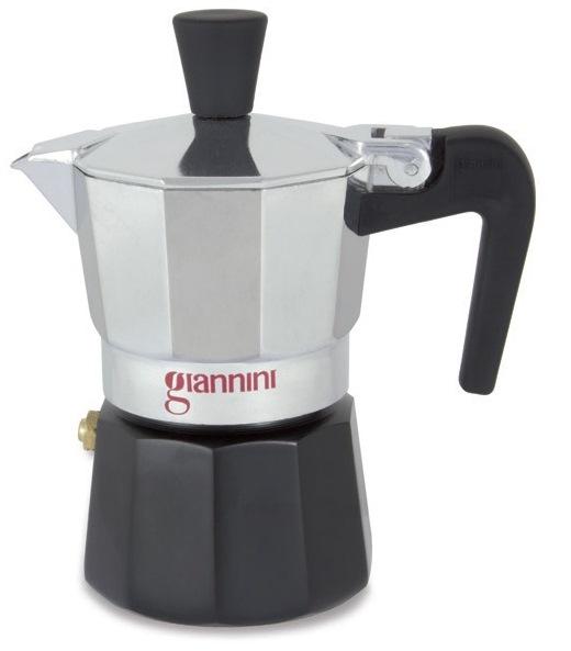Kávovar NINA Moka express na 6 šálků 300 ml černý - Carlo Giannini