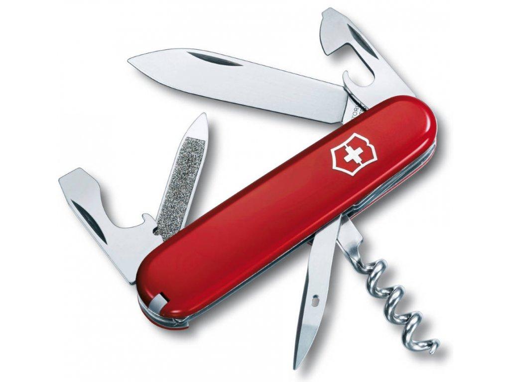 Kapesní nůž SPORTSMAN červený - Victorinox