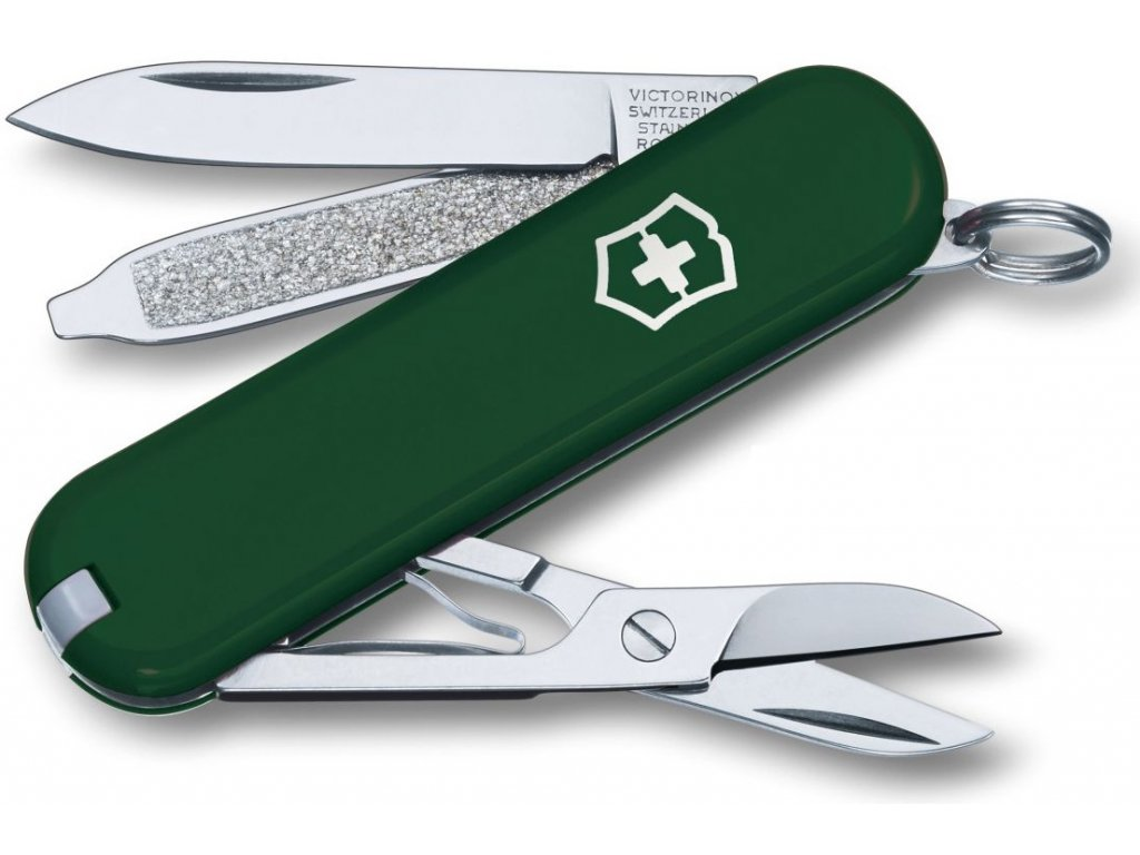 Mininůž CLASSIC SD zelený - Victorinox