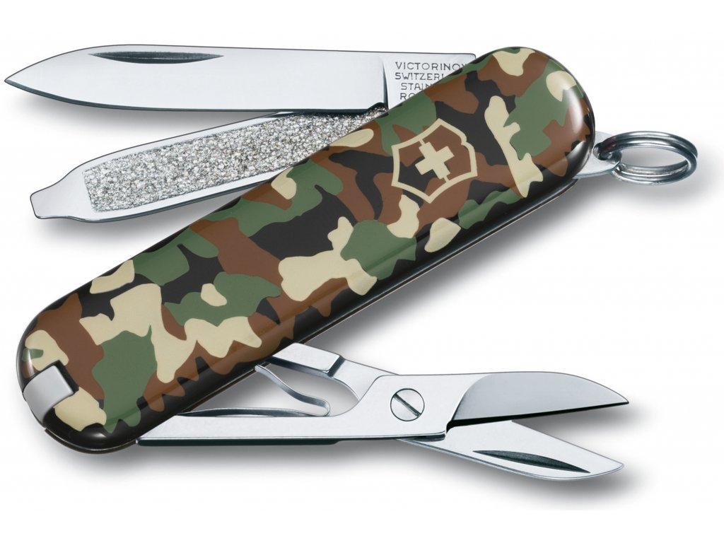 Mininůž CLASSIC SD camouflage - Victorinox