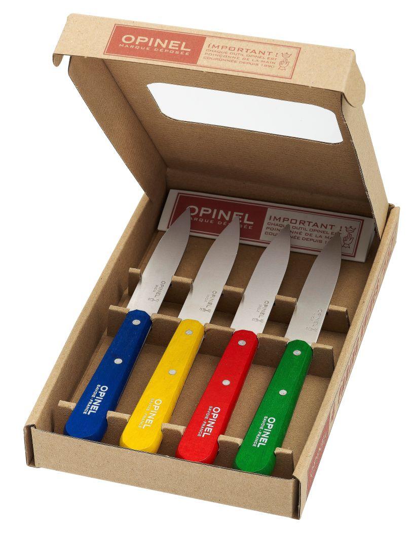 Kuchyňský set Essential 4ks Classic colours - Opinel