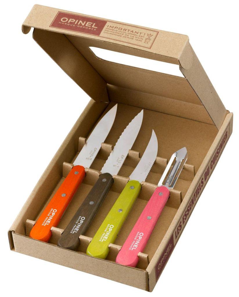 Kuchyňský set Essential Colours 50´s 4ks - Opinel