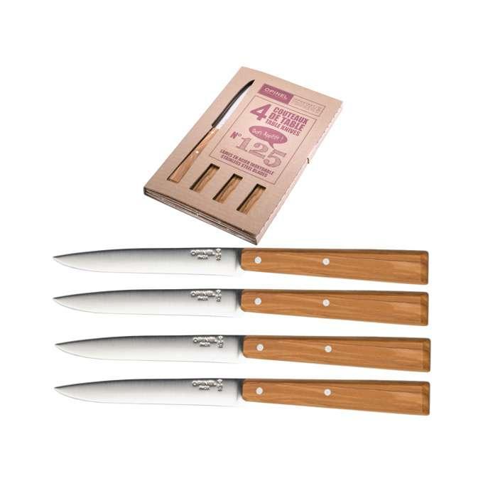Set příborových nožů Southern 4ks N°125 olivový - Opinel