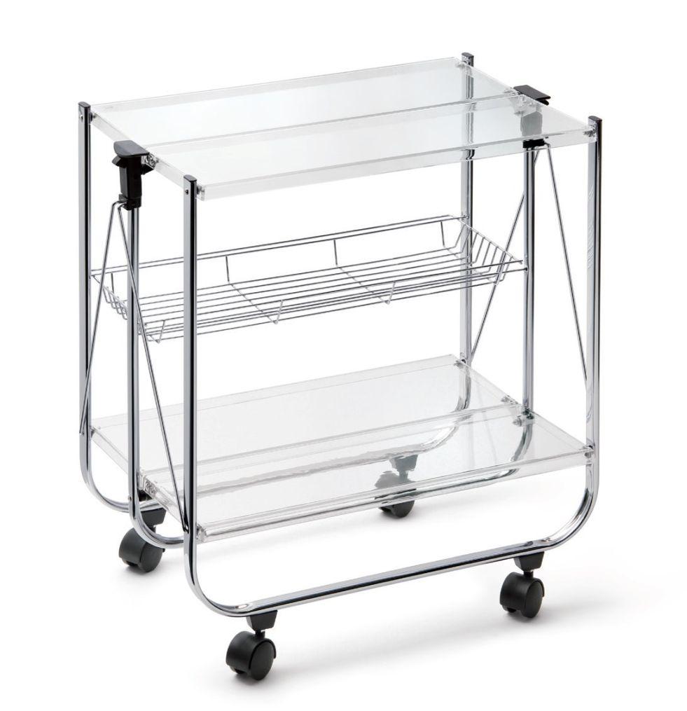 Servírovací stolek METACRILATO, transparentní - Carlo Giannini