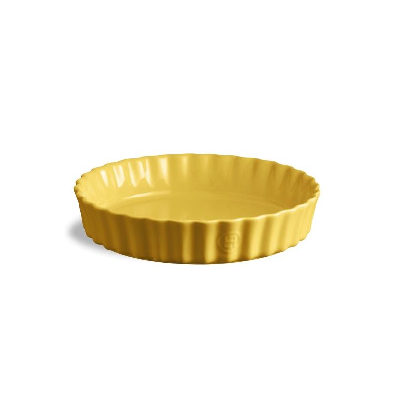 Koláčová forma hluboká 24 cm Provence žlutá - Emile Henry