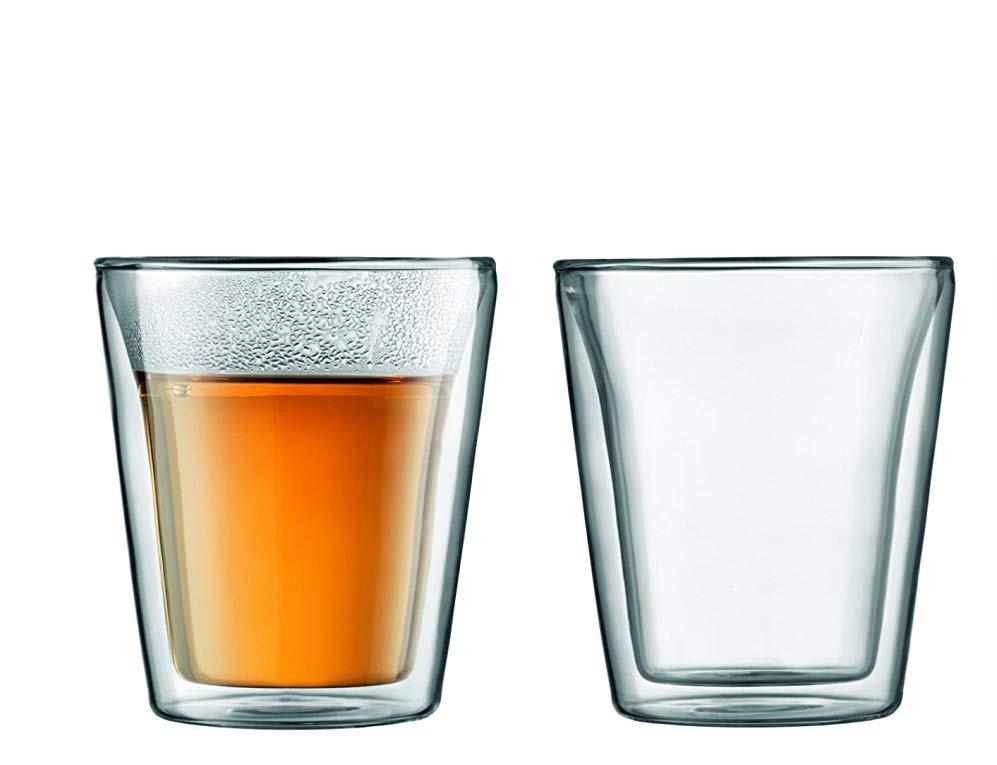 Set 2 ks Dvoustěnná sklenice CANTEEN 0,2 l - Bodum