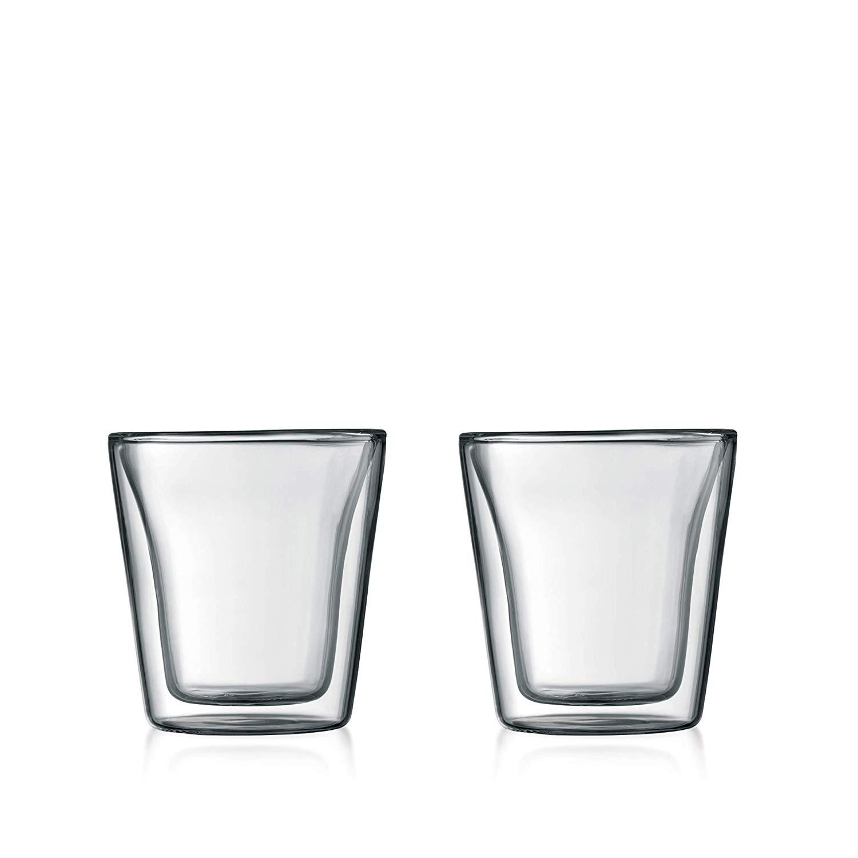 Set 2 ks Dvoustěnná sklenice CANTEEN 0,1 l - Bodum