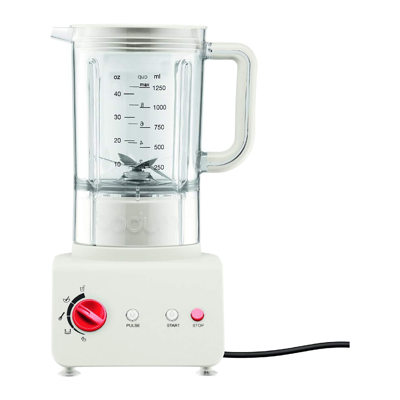 Kuchyňský stolní mixér BISTRO 1,25 l bílý - Bodum
