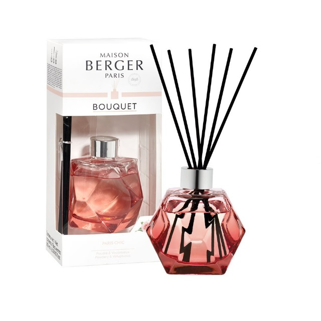 Aroma Difuzér GEOMETRY červený PARIS CHIC 180 ml - Maison Berger Paris