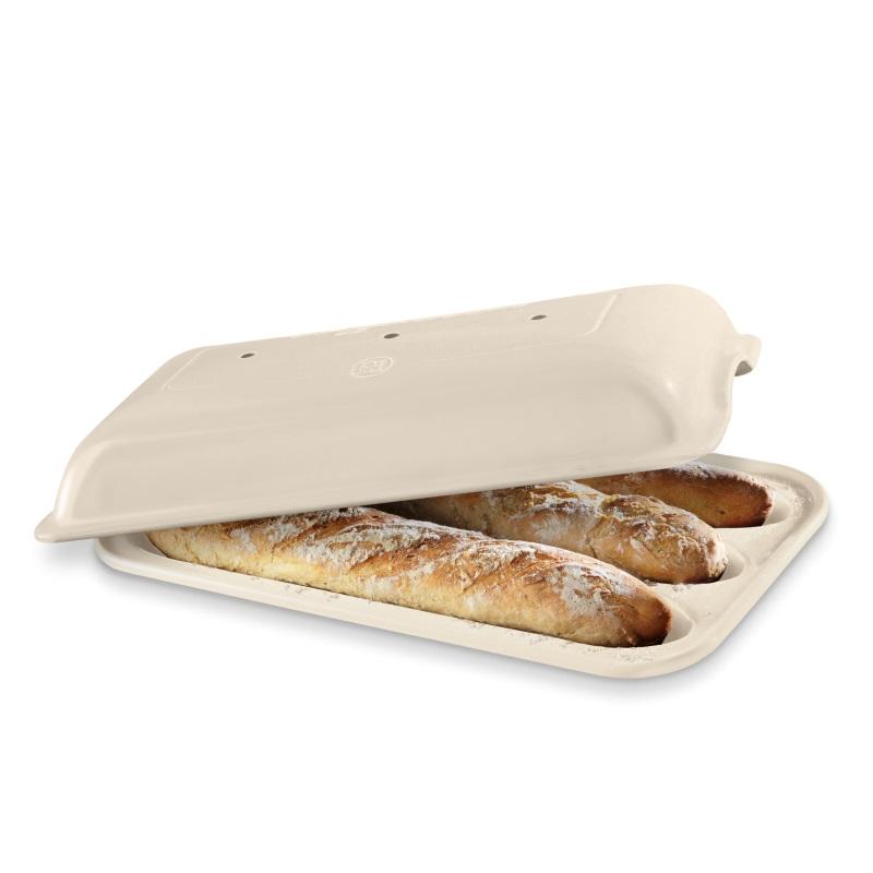 Forma na pečení 3 ks pařížských baget lněná - Emile Henry