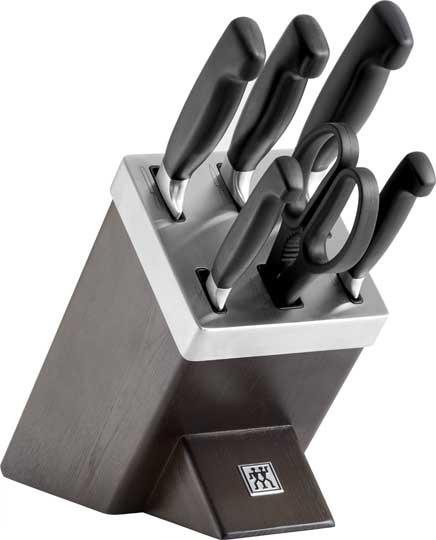 Sada nožů Vier Sterne 7 ks v samoostřícím bloku - ZWILLING J.A. HENCKELS