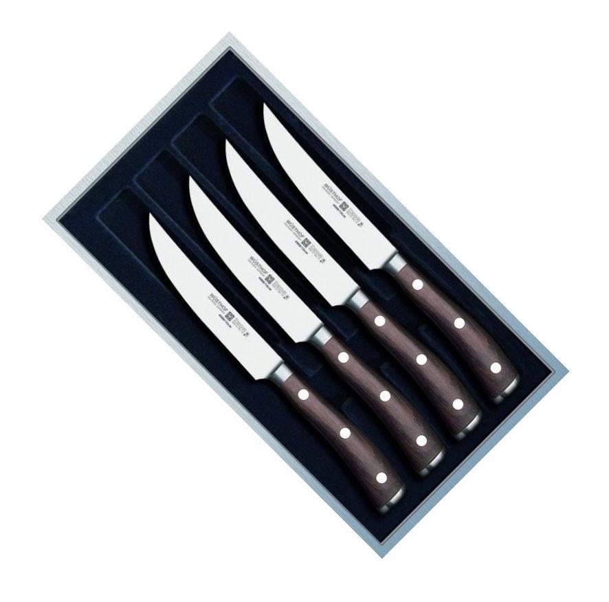 Sada steakových nožů IKON 4 ks - Wüsthof Dreizack Solingen