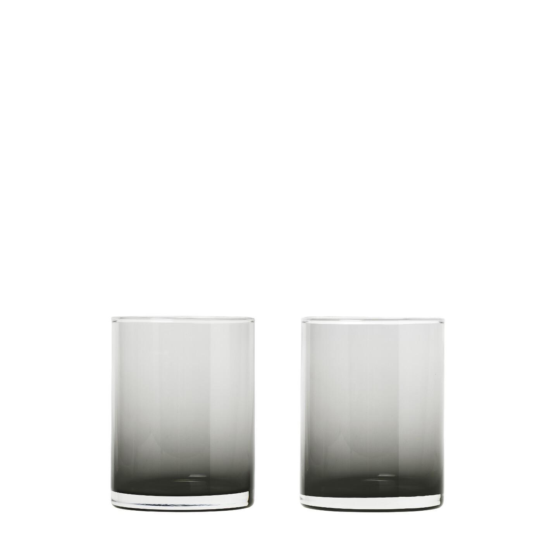 Set 2 ks sklenic MERA, kouřové - Blomus