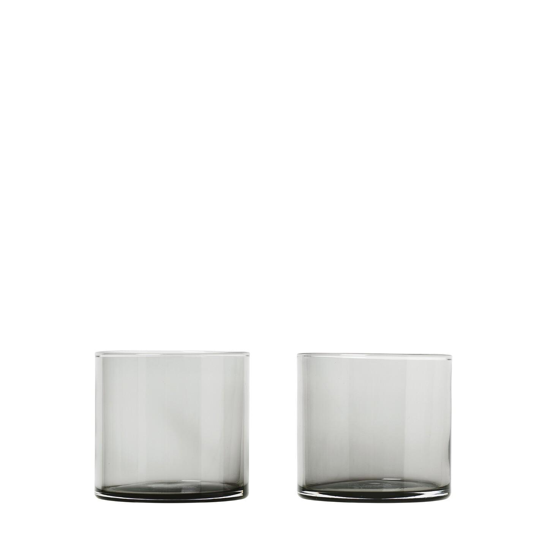 Set 2 ks sklenic MERA 200 ml, kouřové - Blomus