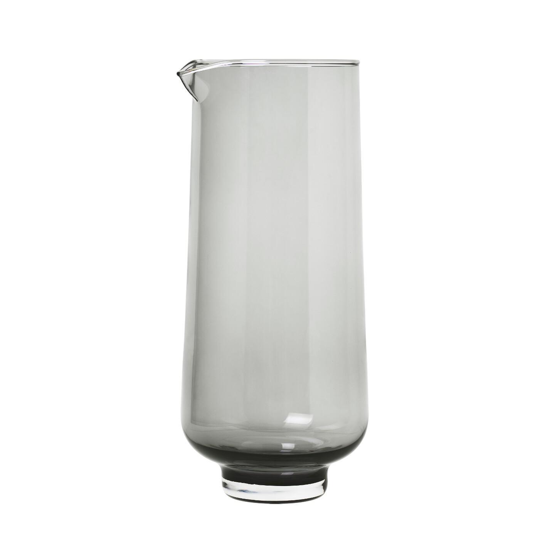 Karafa na vodu FLOW 1100 ml, kouřová - Blomus