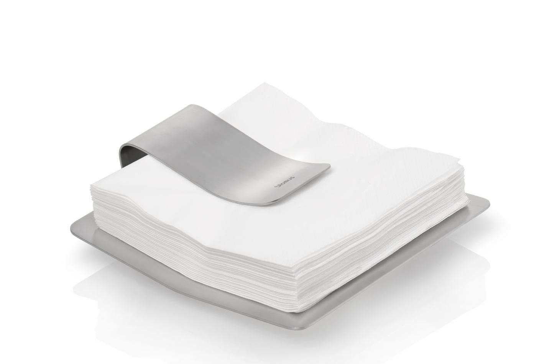 Držák na papírové ubrousky SCUDO, nerez - Blomus