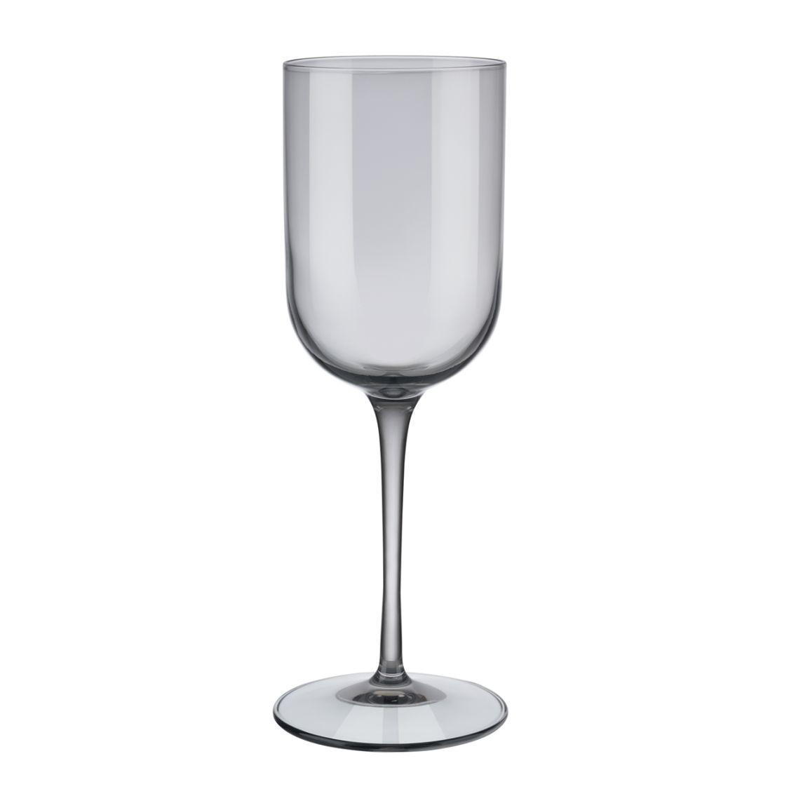 Sada sklenic na bílé víno FUUM 4ks, kouřová - Blomus
