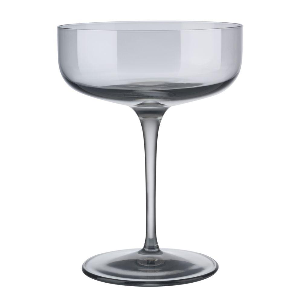 Sada sklenic na šampaňské FUUM 4ks, kouřová - Blomus