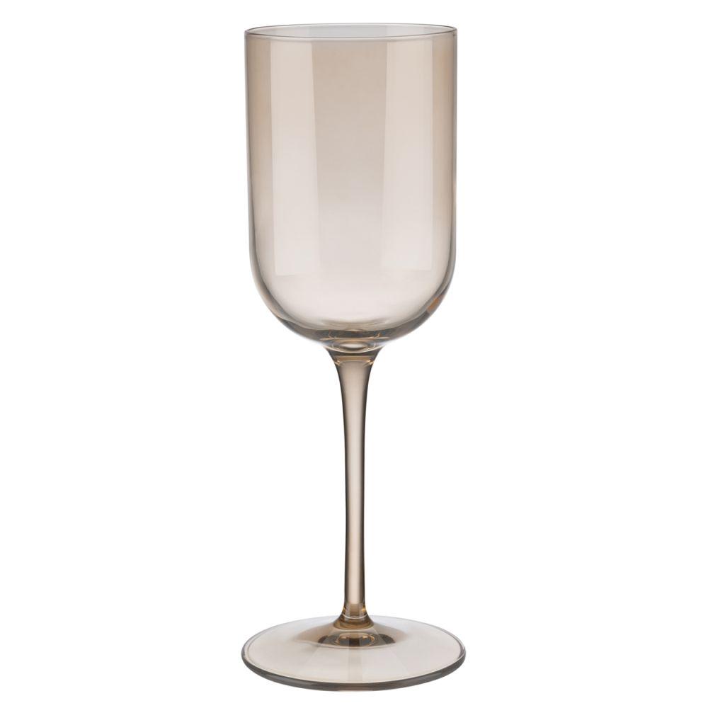 Sada sklenic na bílé víno FUUM 4ks, písková - Blomus