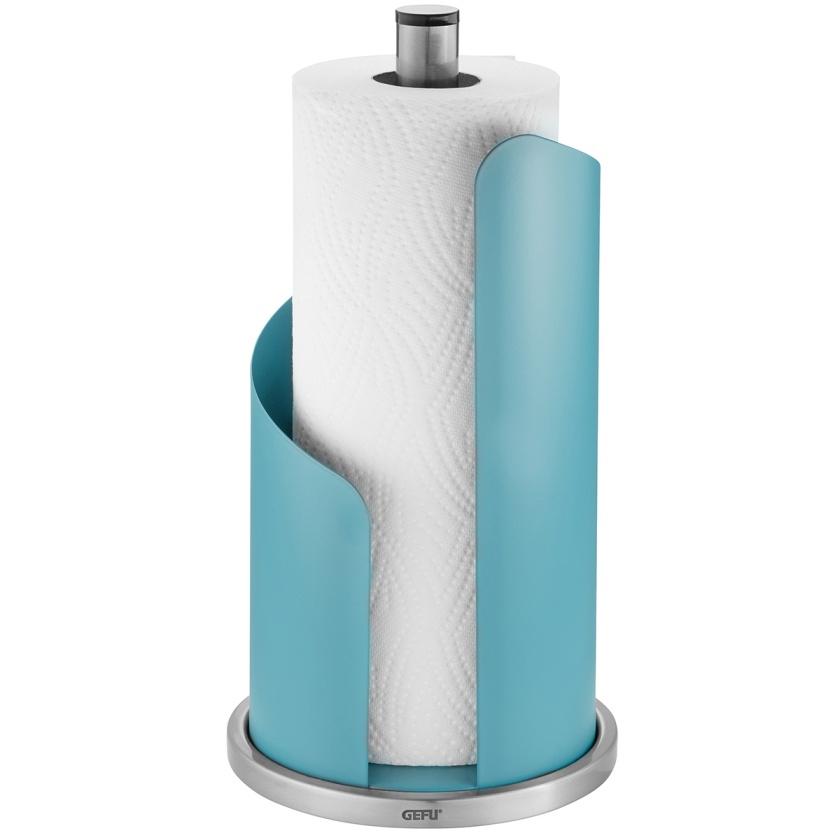 Držák na kuchyňské role CURVE blankytně modrý - GEFU