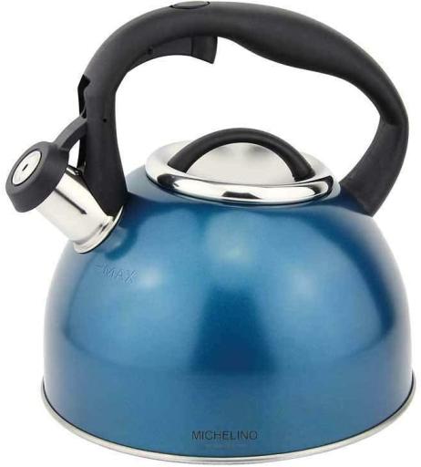 Konvice na vaření vody Count 2,4l modrá - Michelino
