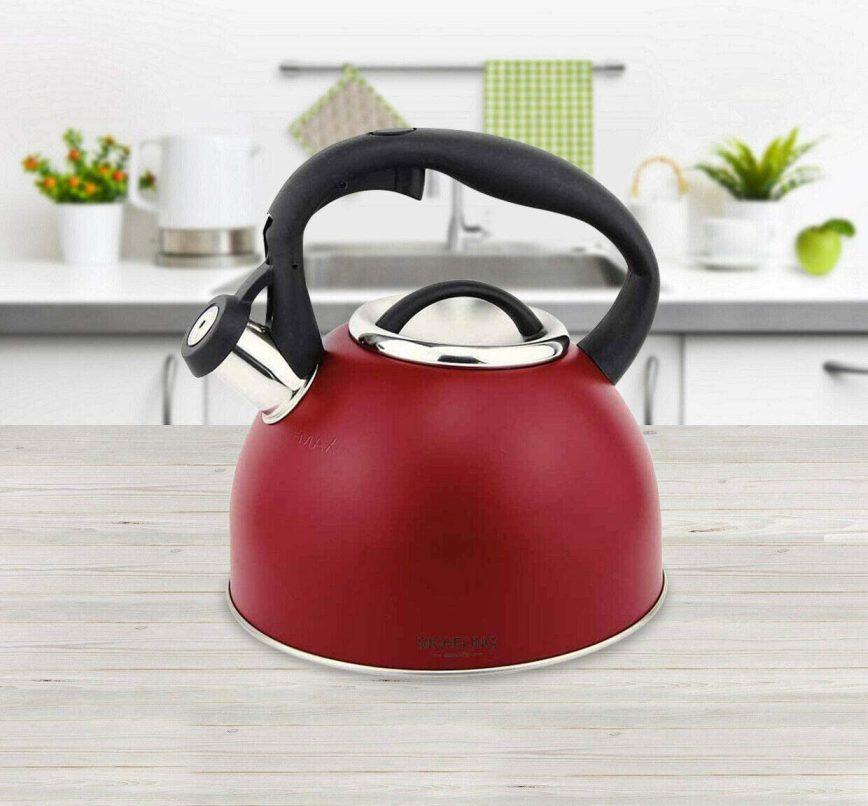 Konvice na vaření vody Count 2,4l červená - Michelino