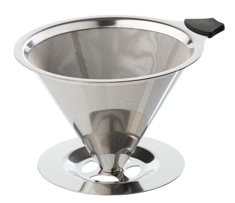 Permanentní filtr na kávu velikost 4, nerez - Cilio