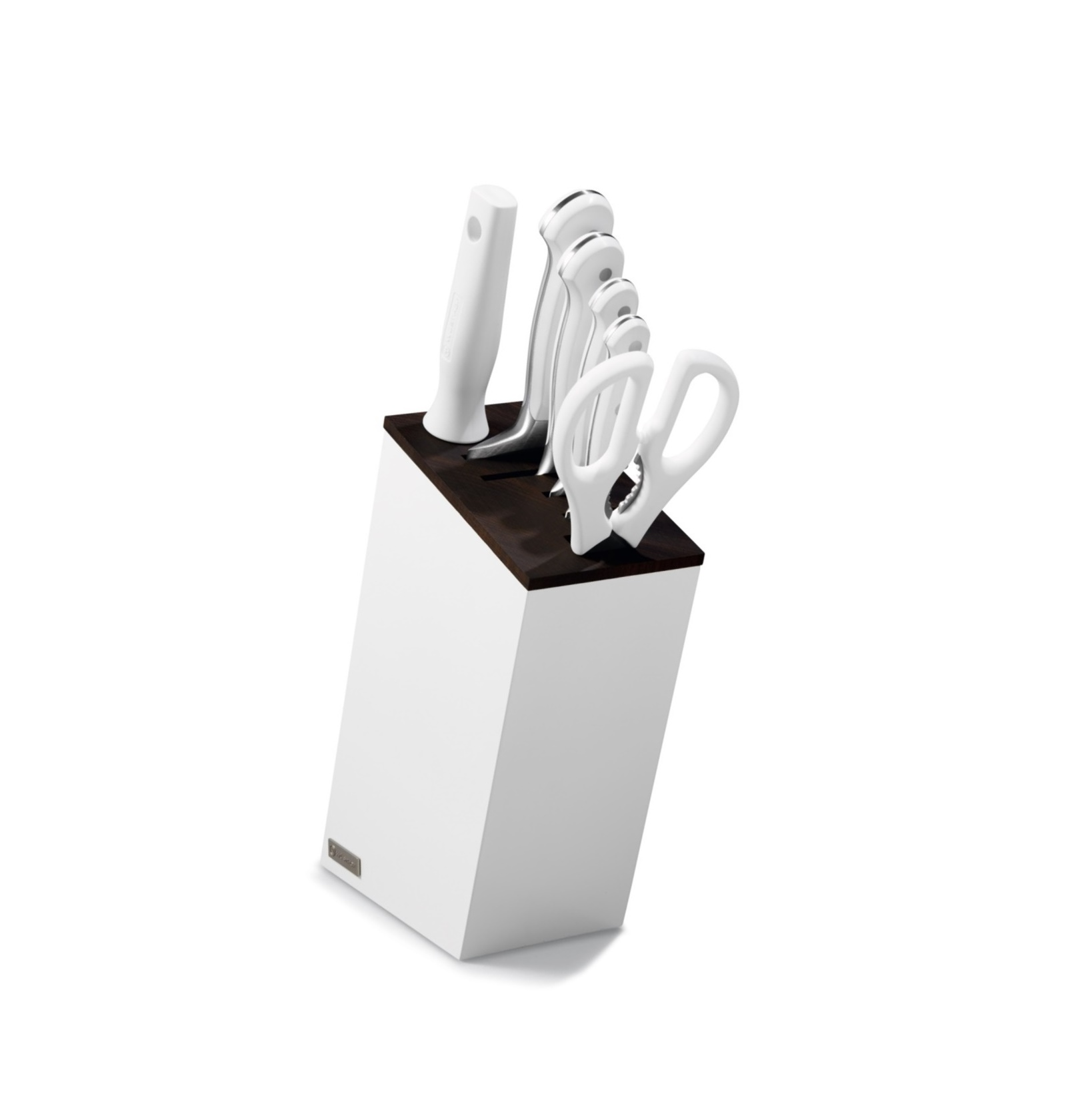 Blok s noži CLASSIC White 6 ks - verze Santoku - Wüsthof Dreizack Solingen