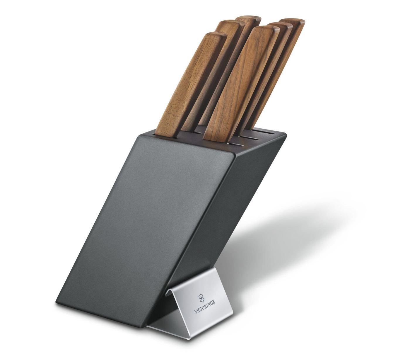 Blok s noži se 6ks SWISS MODERN - Victorinox